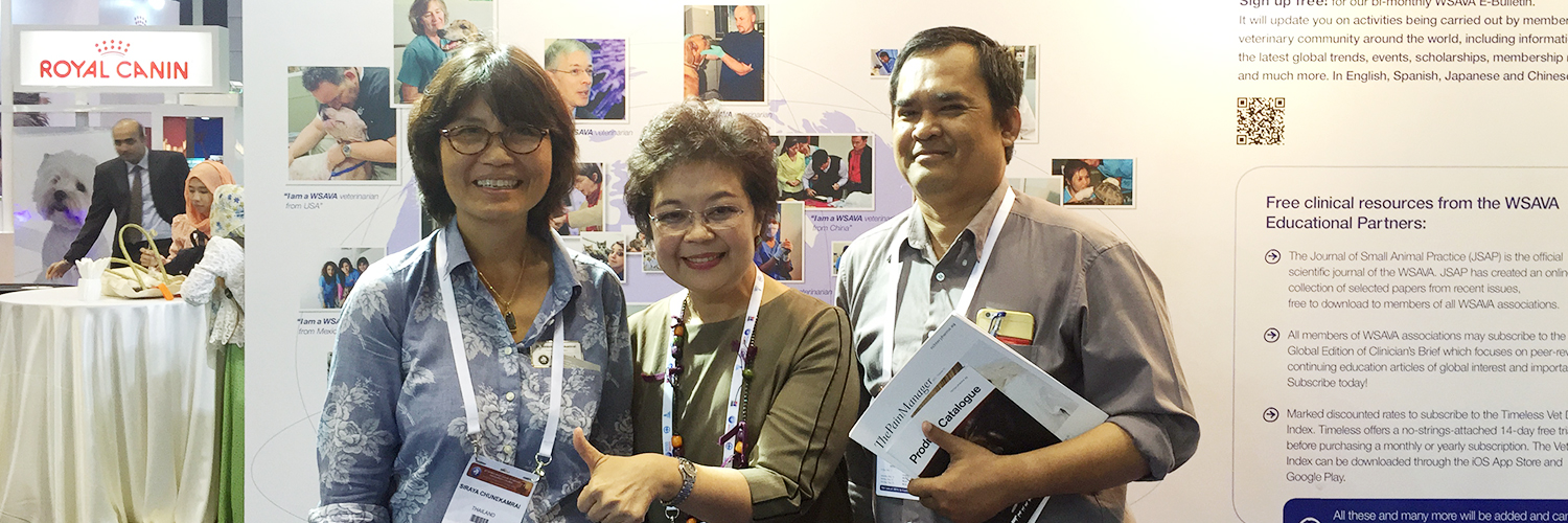 WSAVA congress 2015, 15-18 May 2015, Bangkok, Thailand (8)